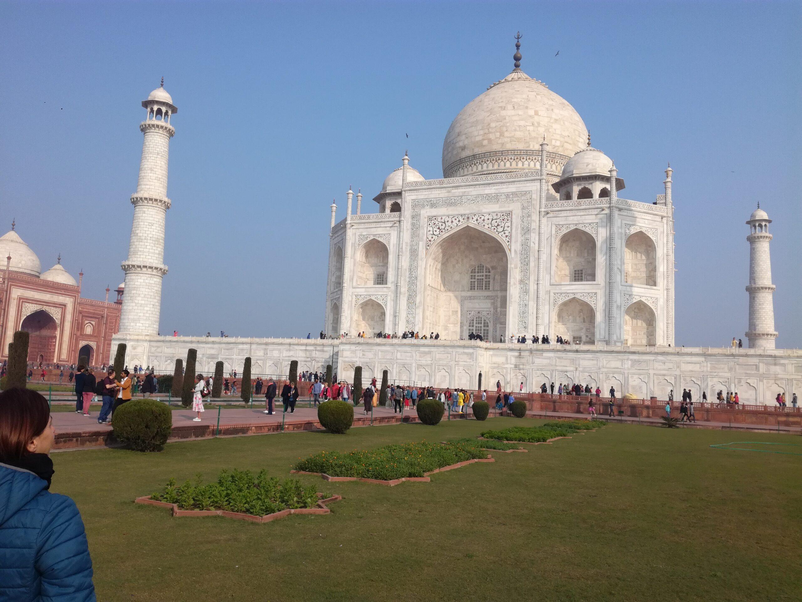 Ammirare il Taj Mahal