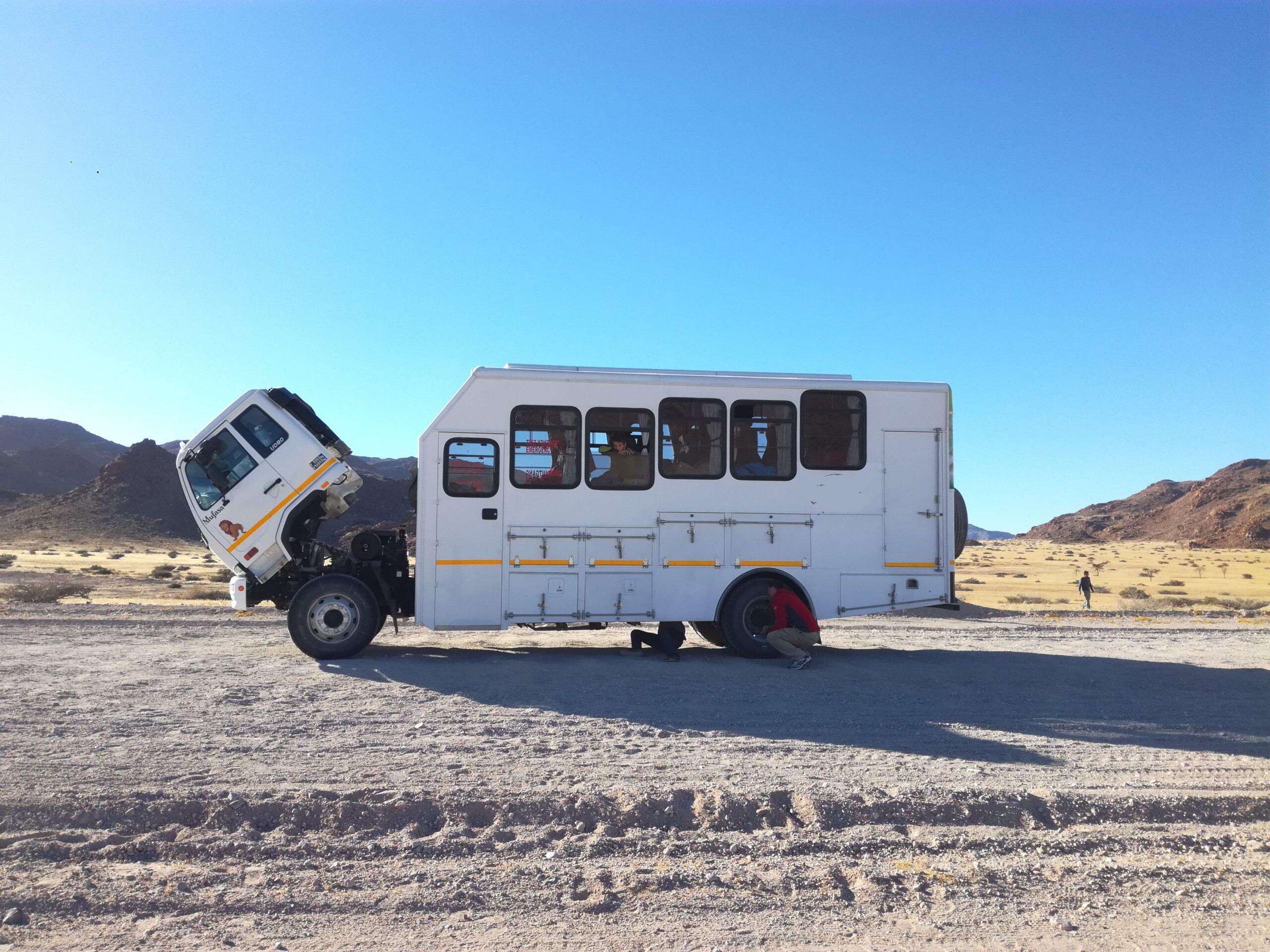 Namibia, nel bel mezzo di niente!