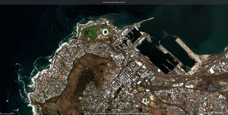 GSD Calculator | Sentinel-2 Image of Cape Town