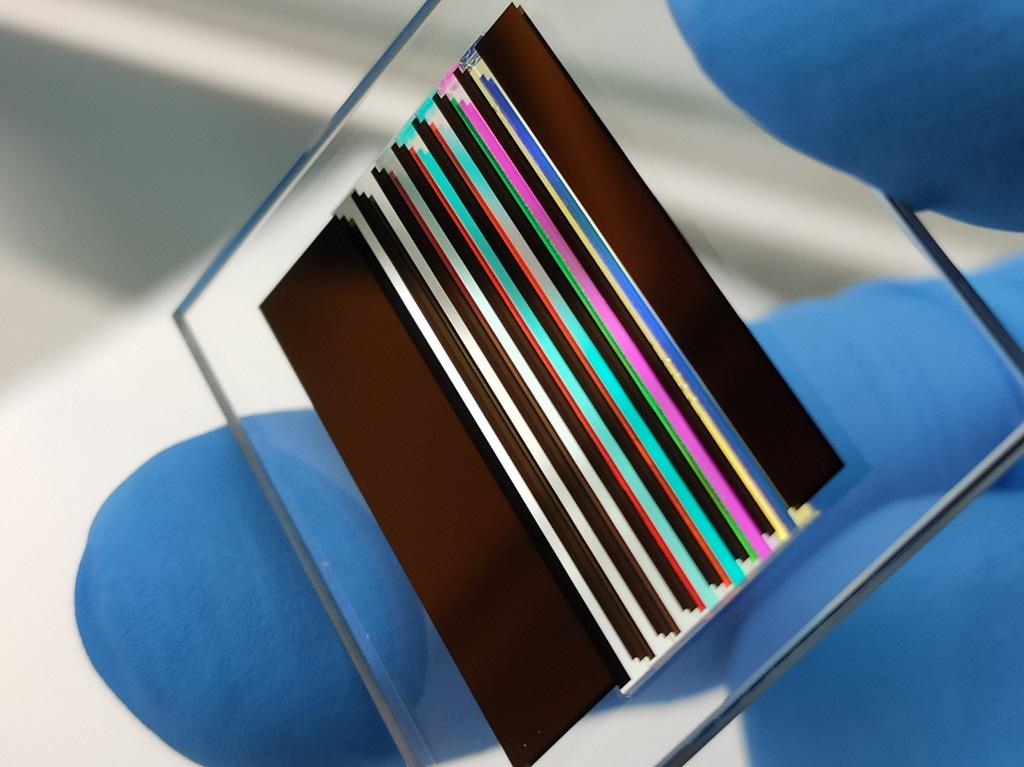 Multispectral Cubesat imager filter set