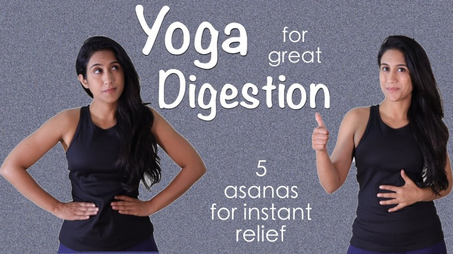 5 Yoga Poses That can Improve Your Digestion