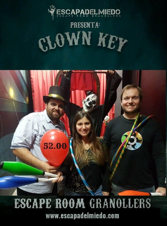 clown key