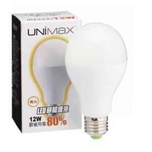 LED 12W球泡燈_黃光