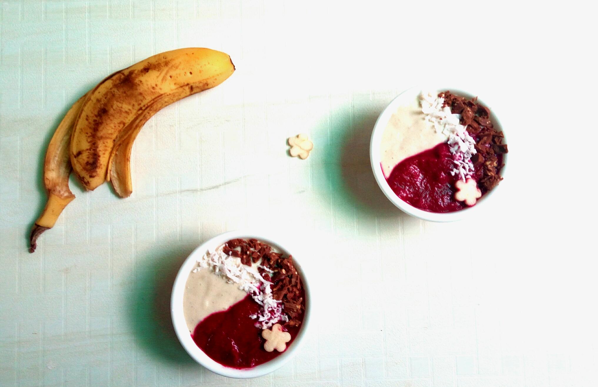 beetroot banana smoothe