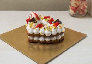 rasmalai tart cake
