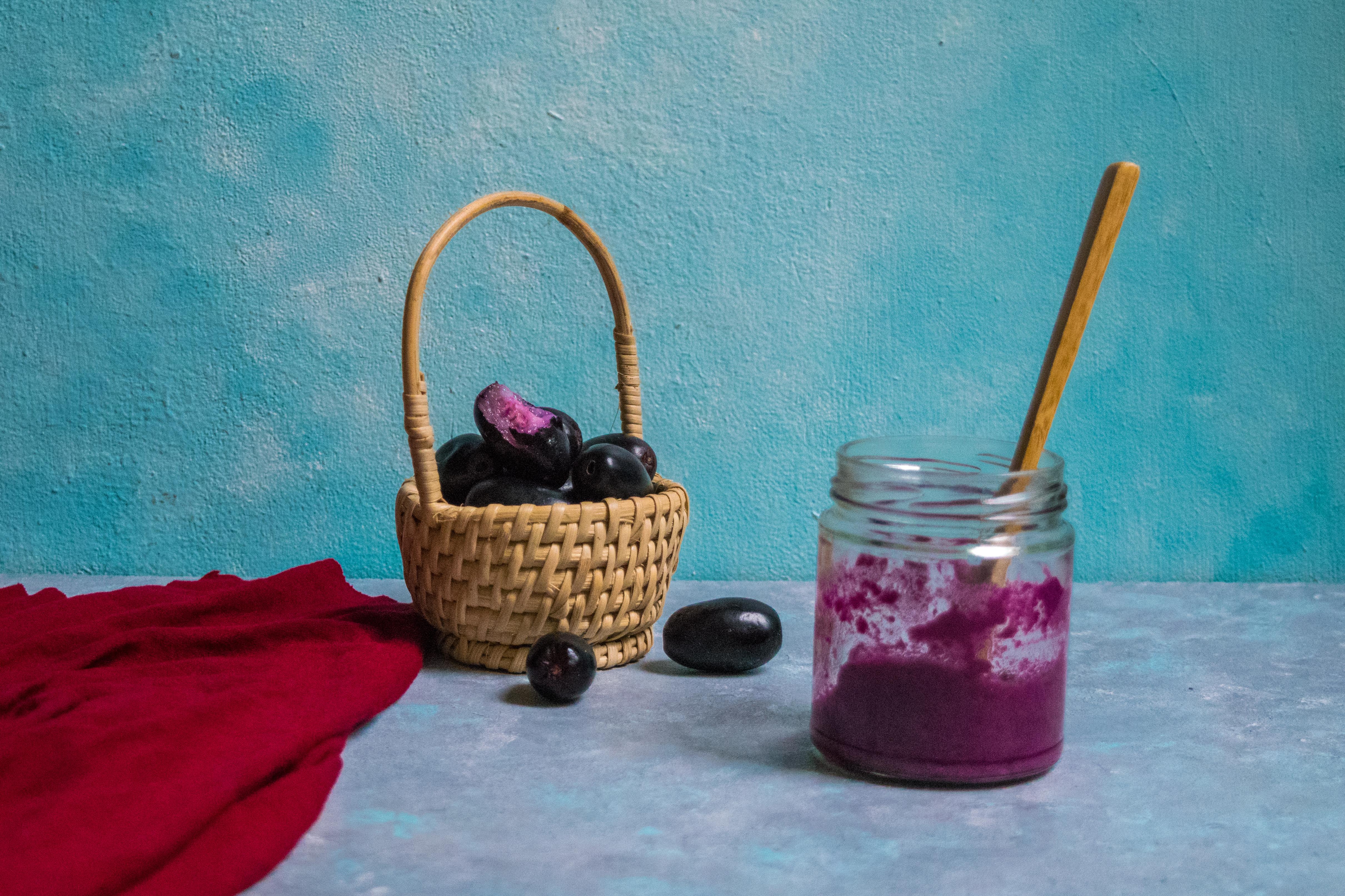 wild jamun | java plum compote recipe