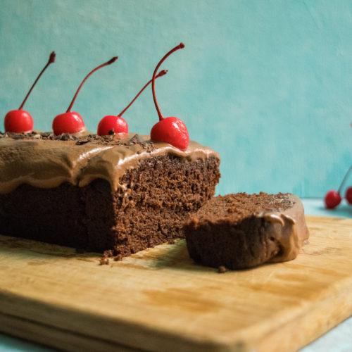 rich eggless Chocolate Cake Recipe