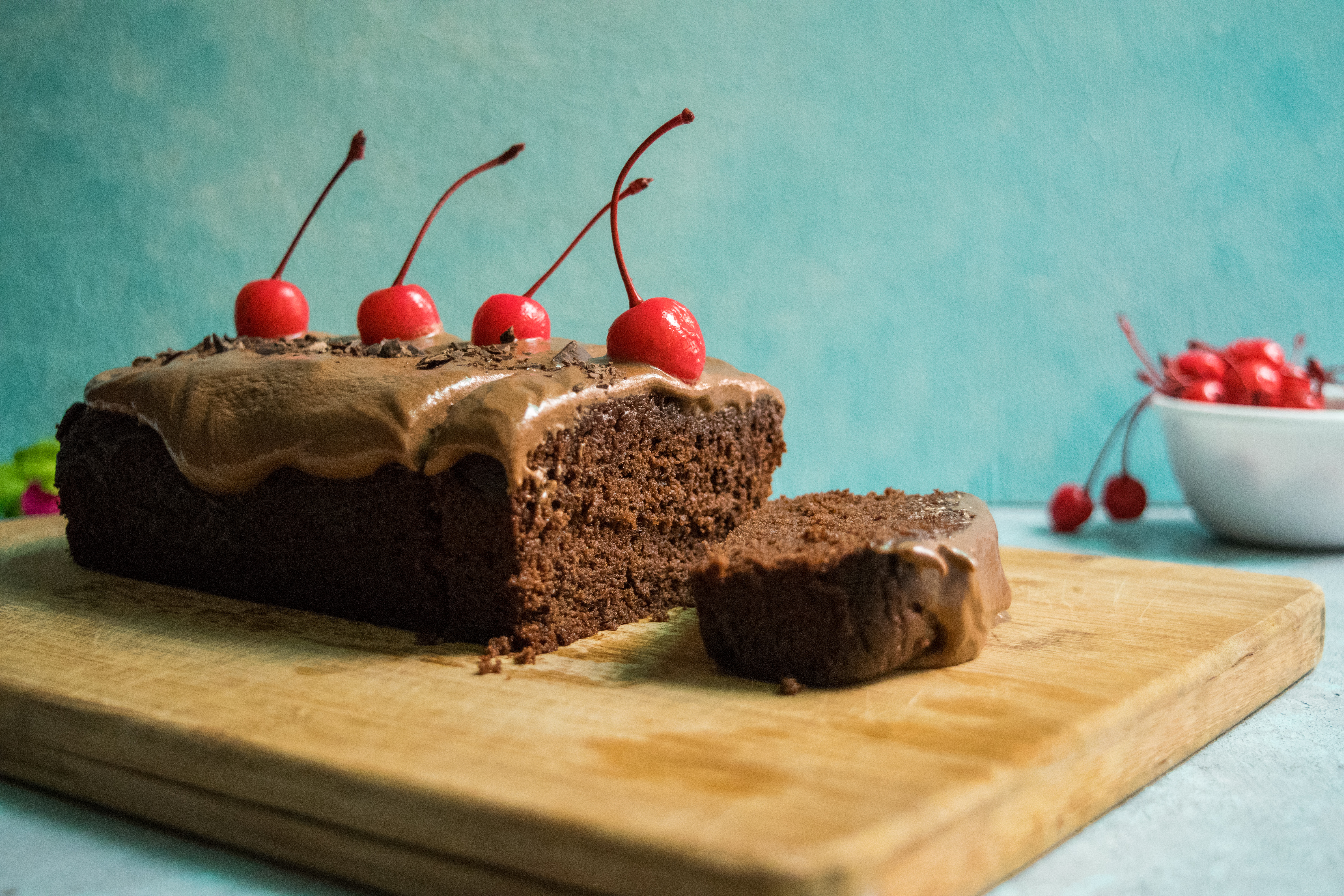rich eggless Chocolate Cake Recipe