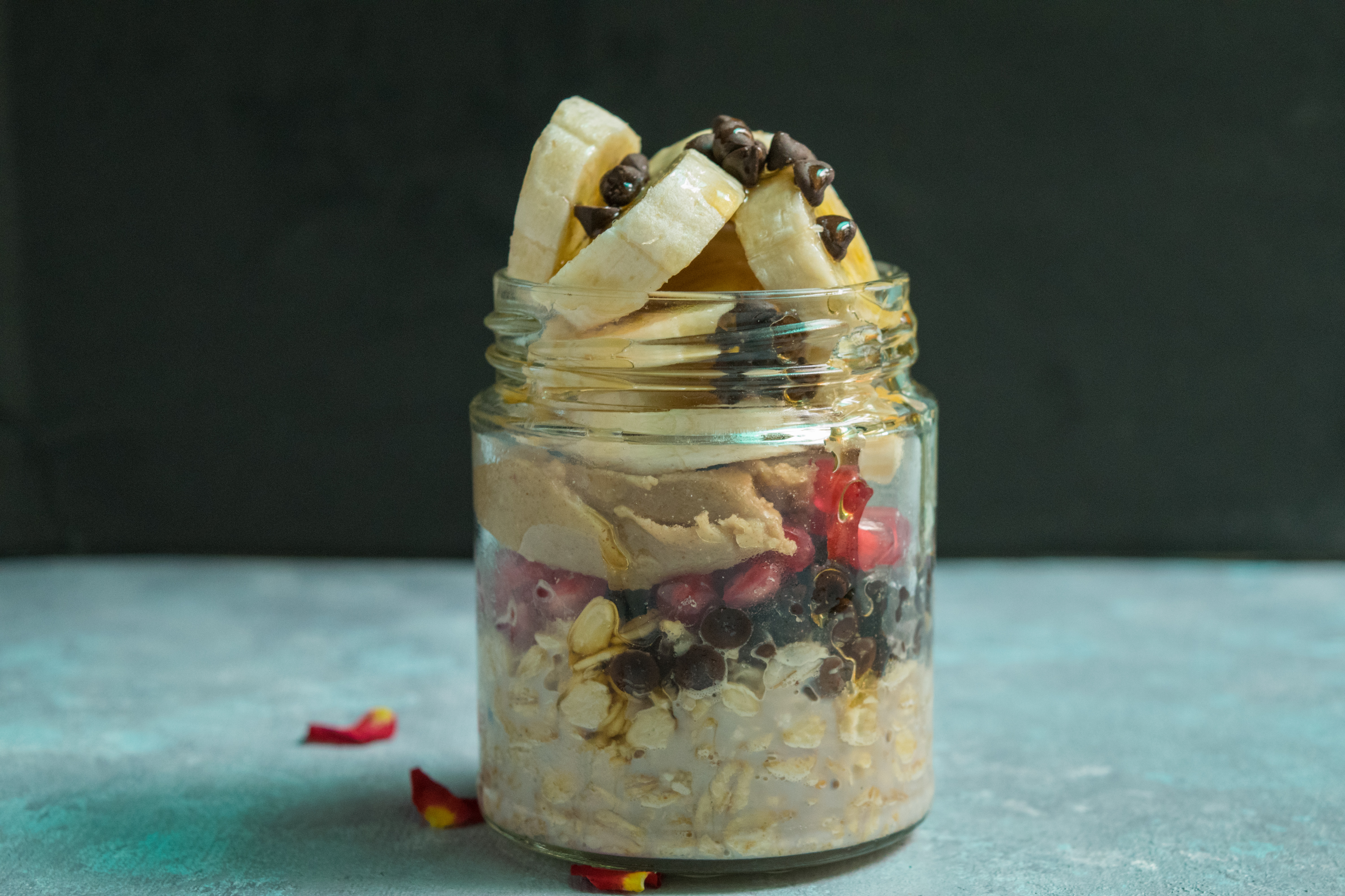 Oats jar Breakfast