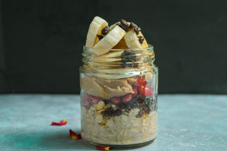 Oats jar Breakfast