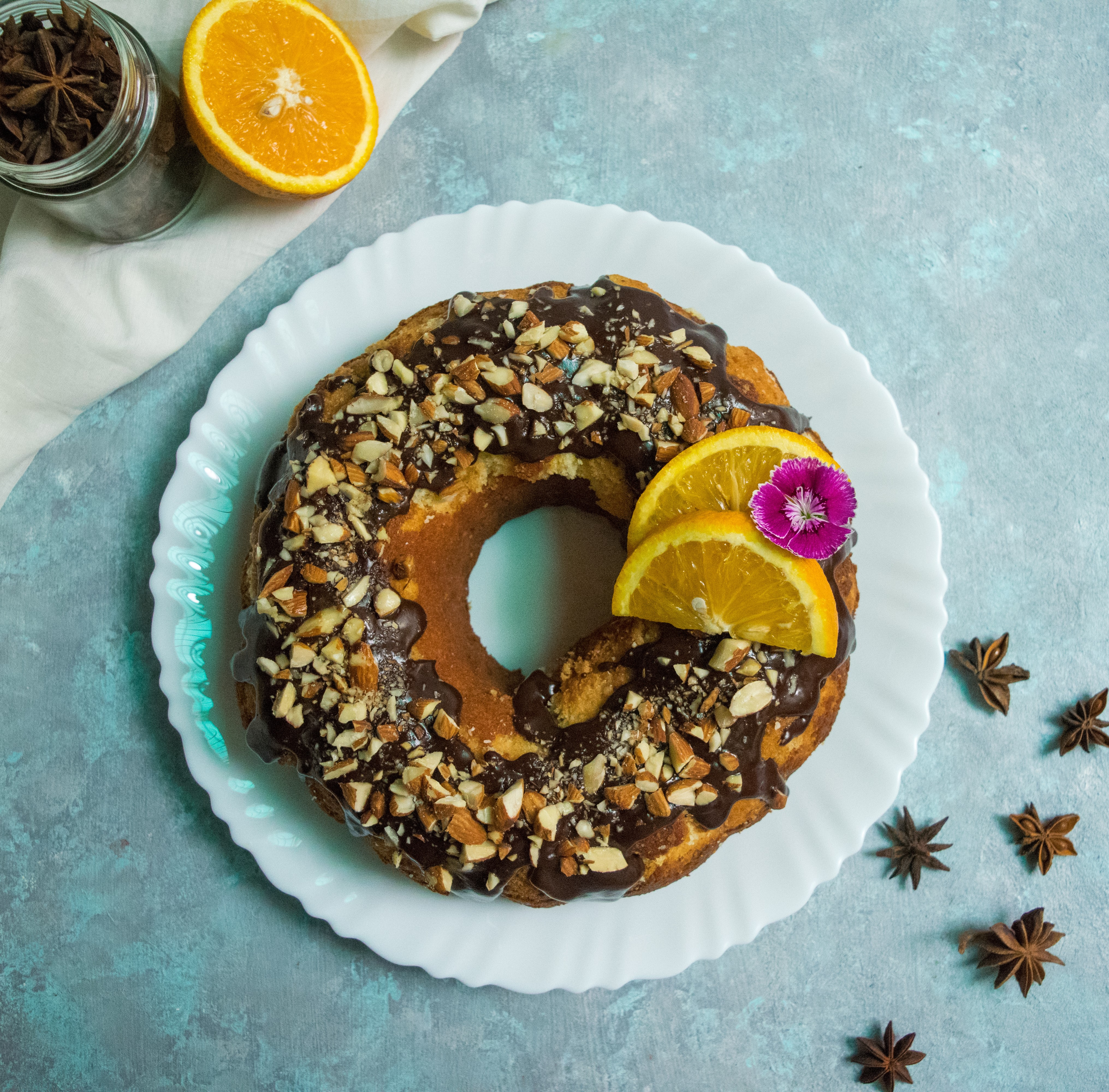 cream cheese orange pound cake recipe