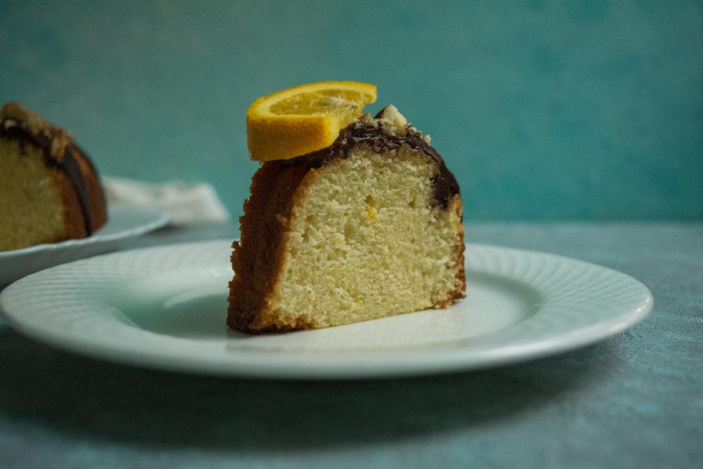 cream cheese orange cake