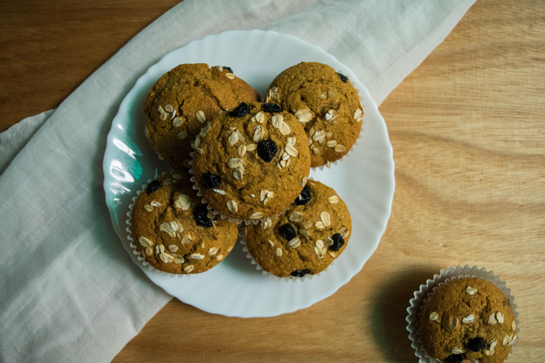breakfast oats blueberry muffin recipe