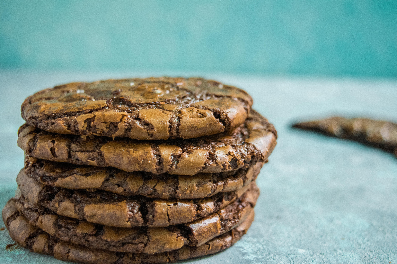 Best Ever Brownie Crinkle Cookies
