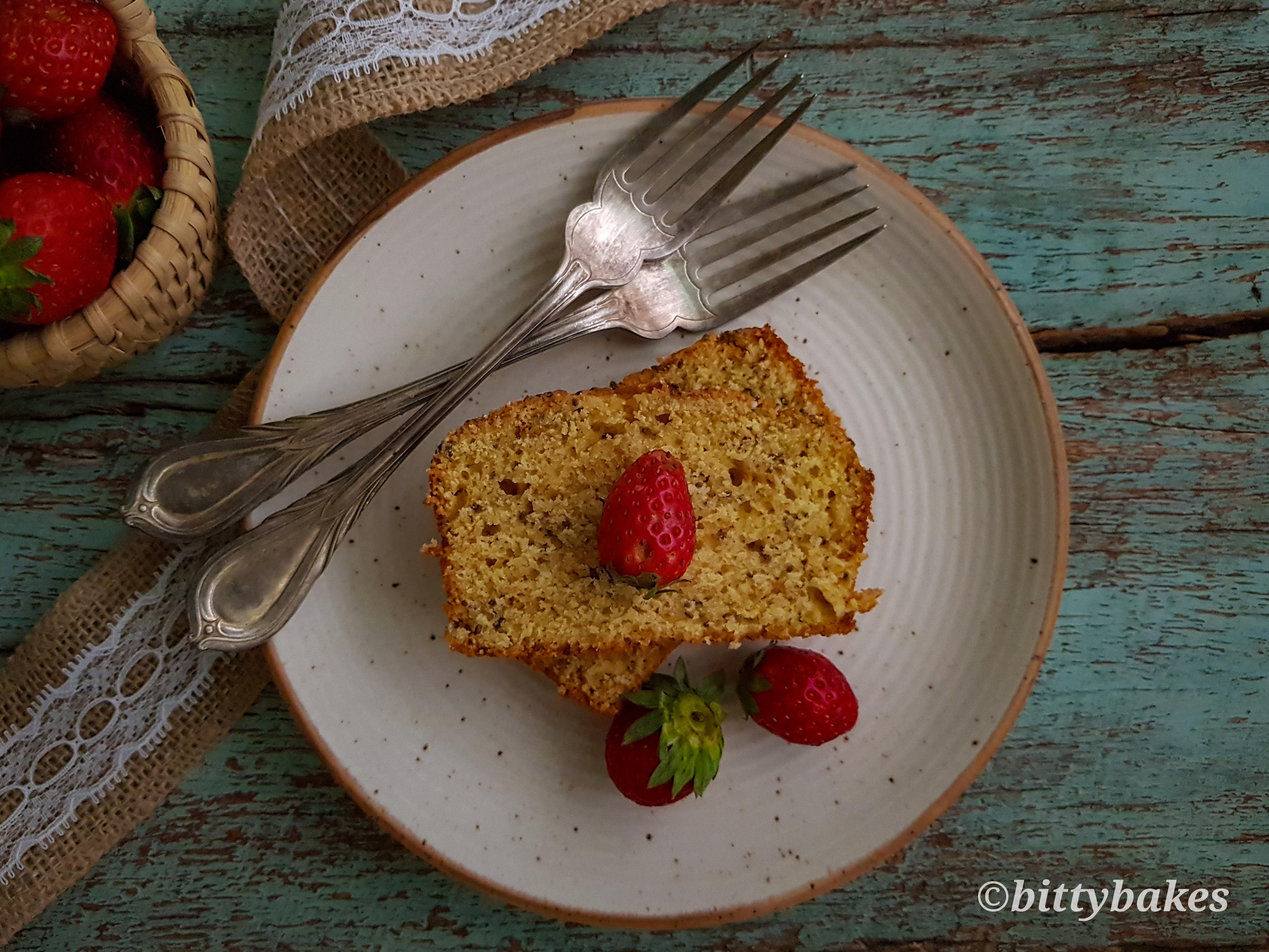 poppy seed orange cake