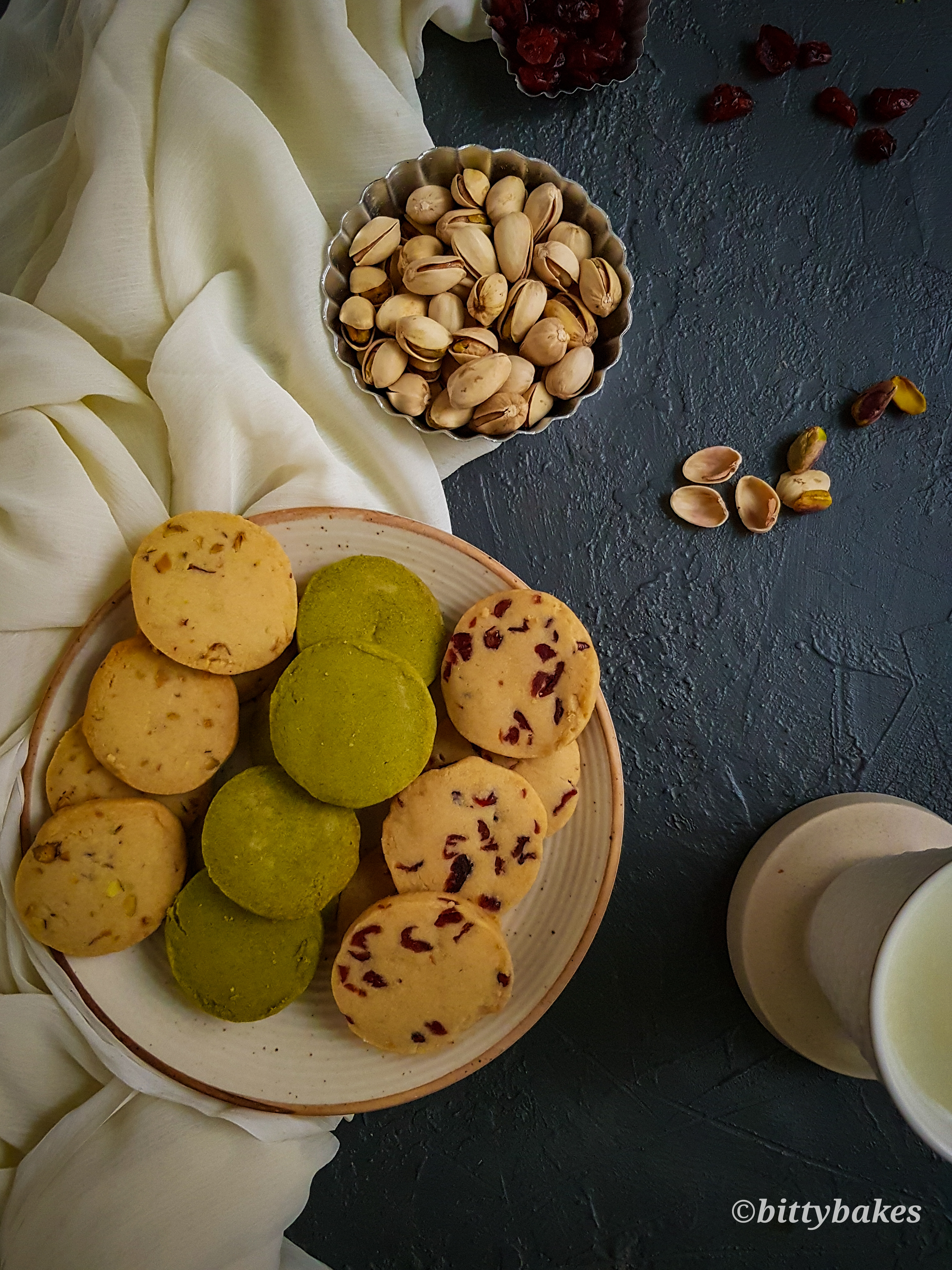 Easy Whole Wheat shortbread Cookies