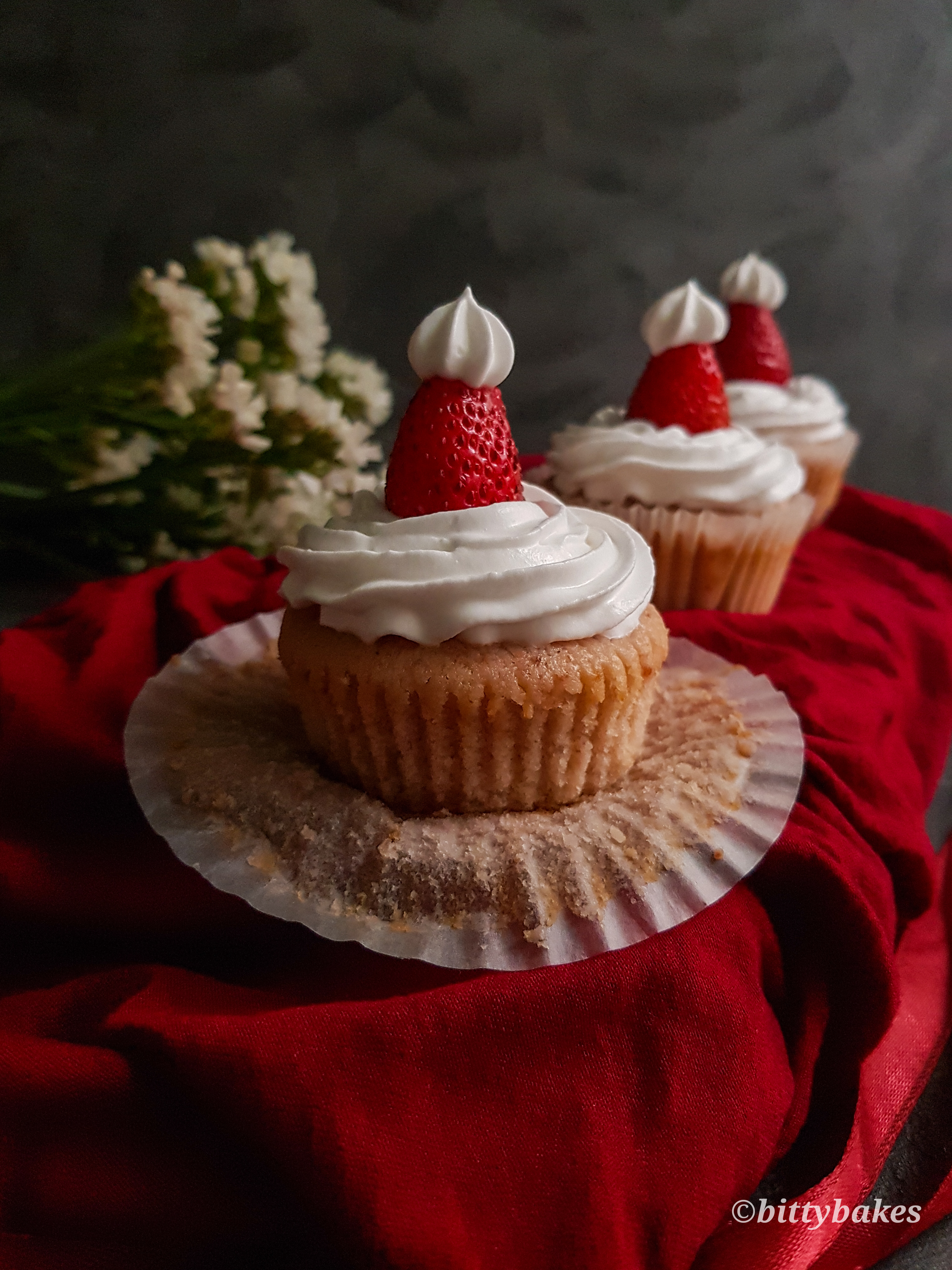 Best Ever Strawberry Cupcakes