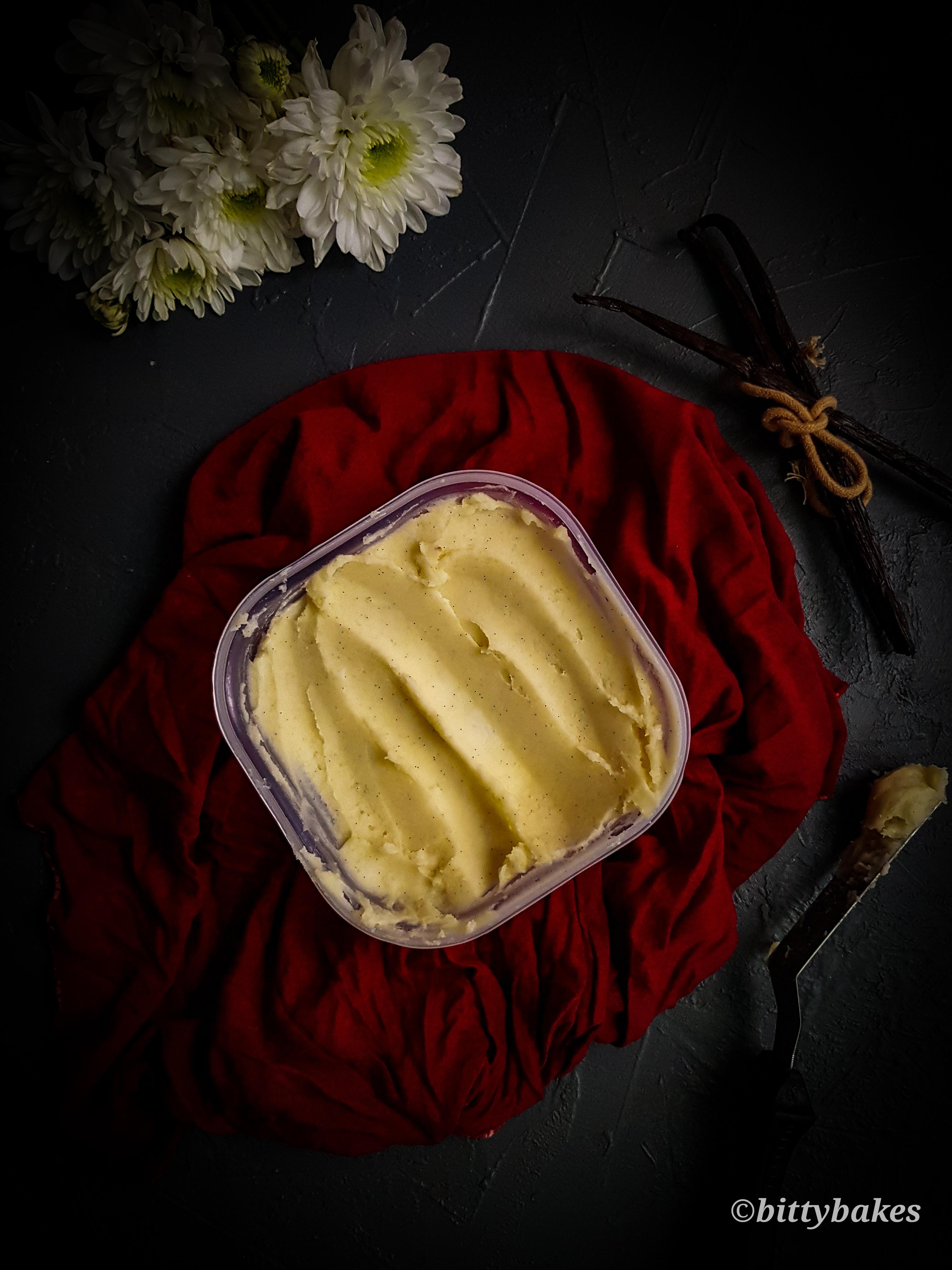 best ever vanilla bean buttercream