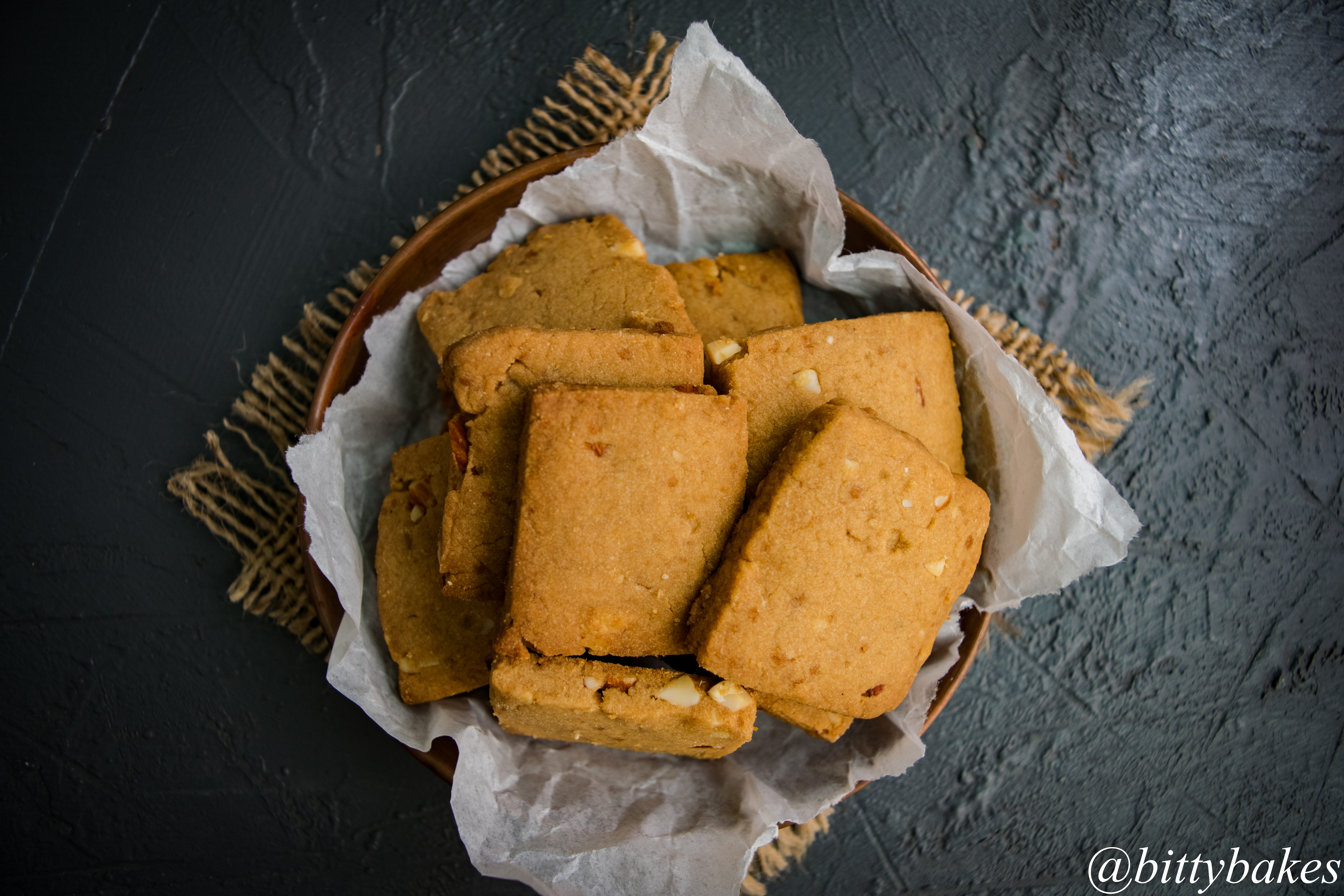 Eggless Whole Millet Healthy Cookies