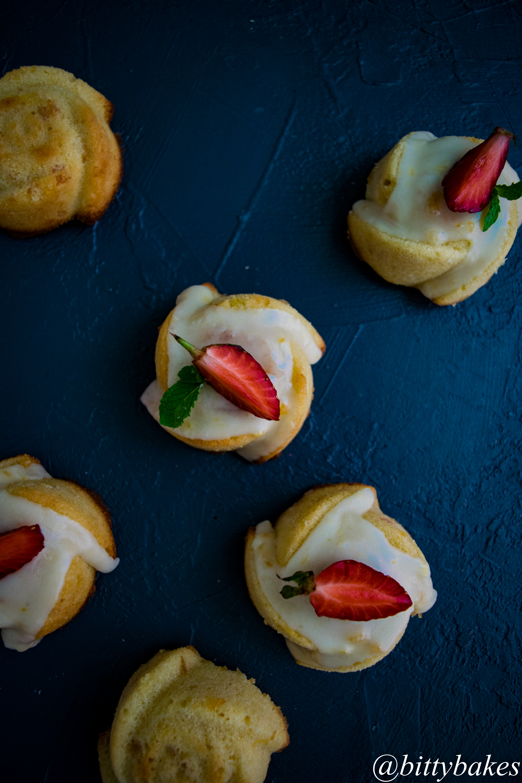 semolina orange marmalade muffin