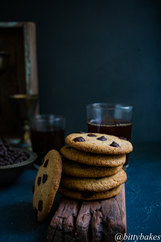 Wheat Chocolate Chip Cookies-4434