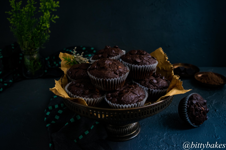 banana chocolate muffins-4487