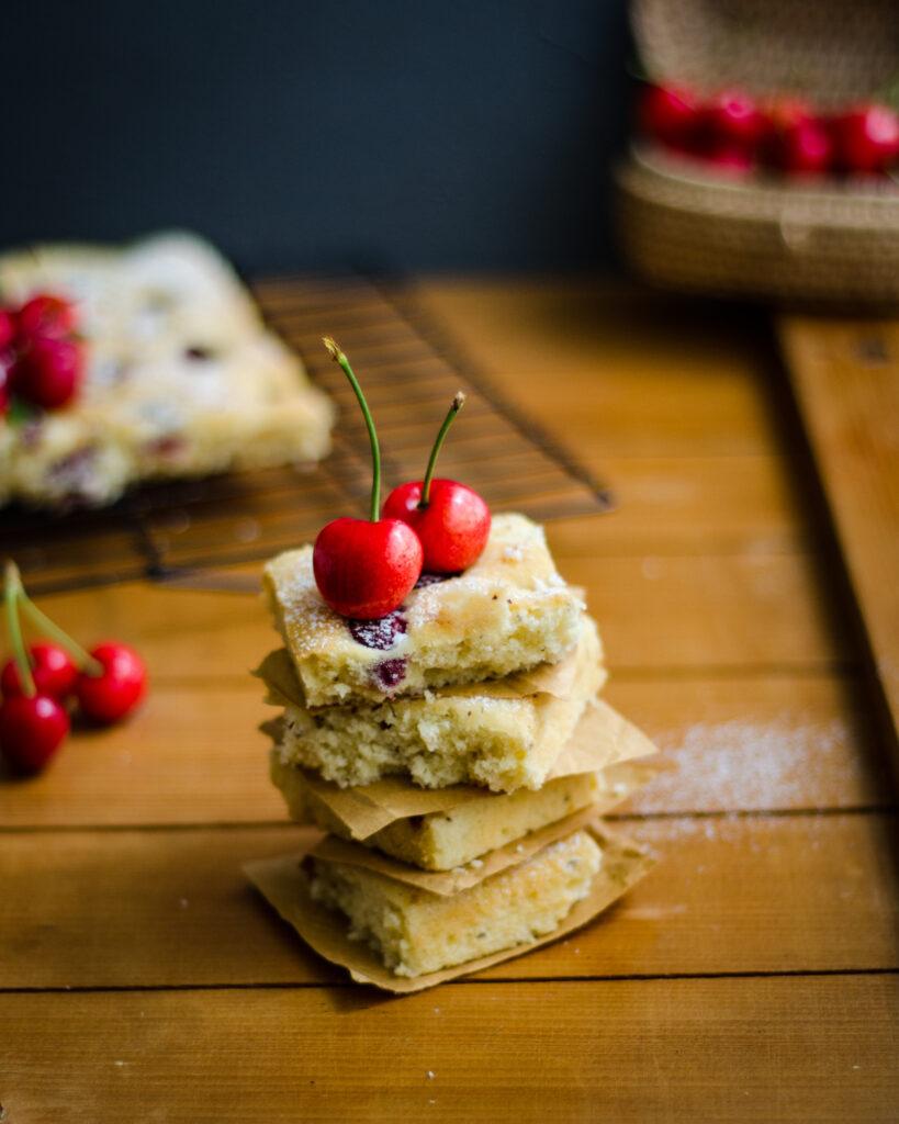 cherry coconut cake
