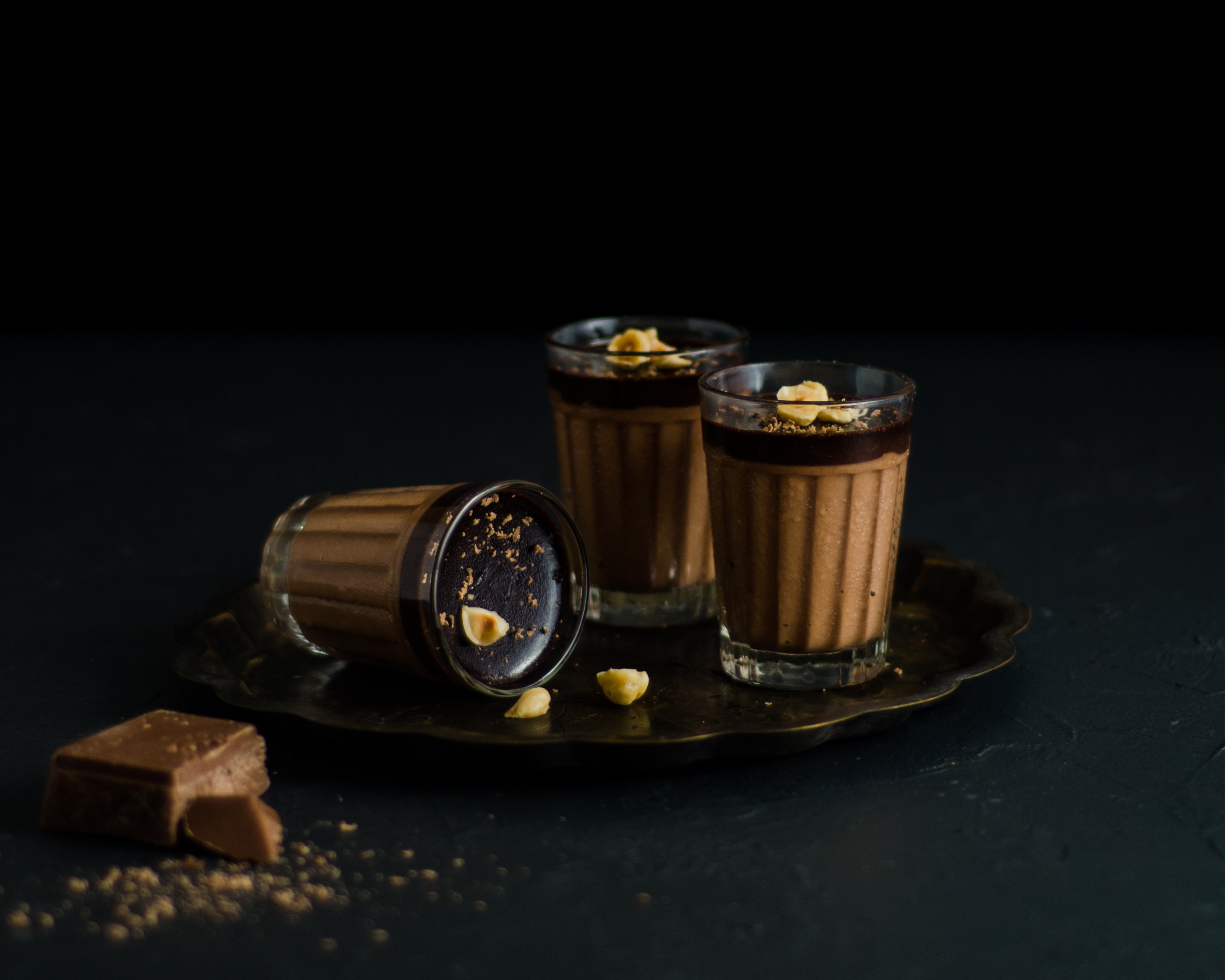 hazelnut chocolate mousse