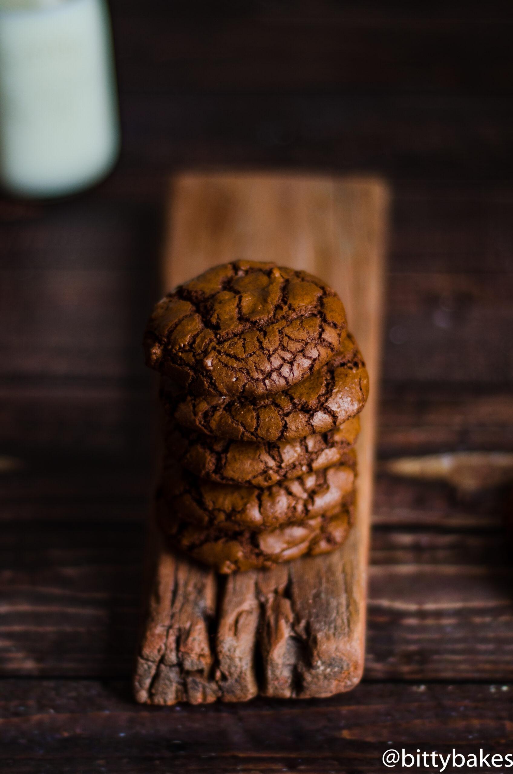 Healthy Buckwheat Brownie Cookies