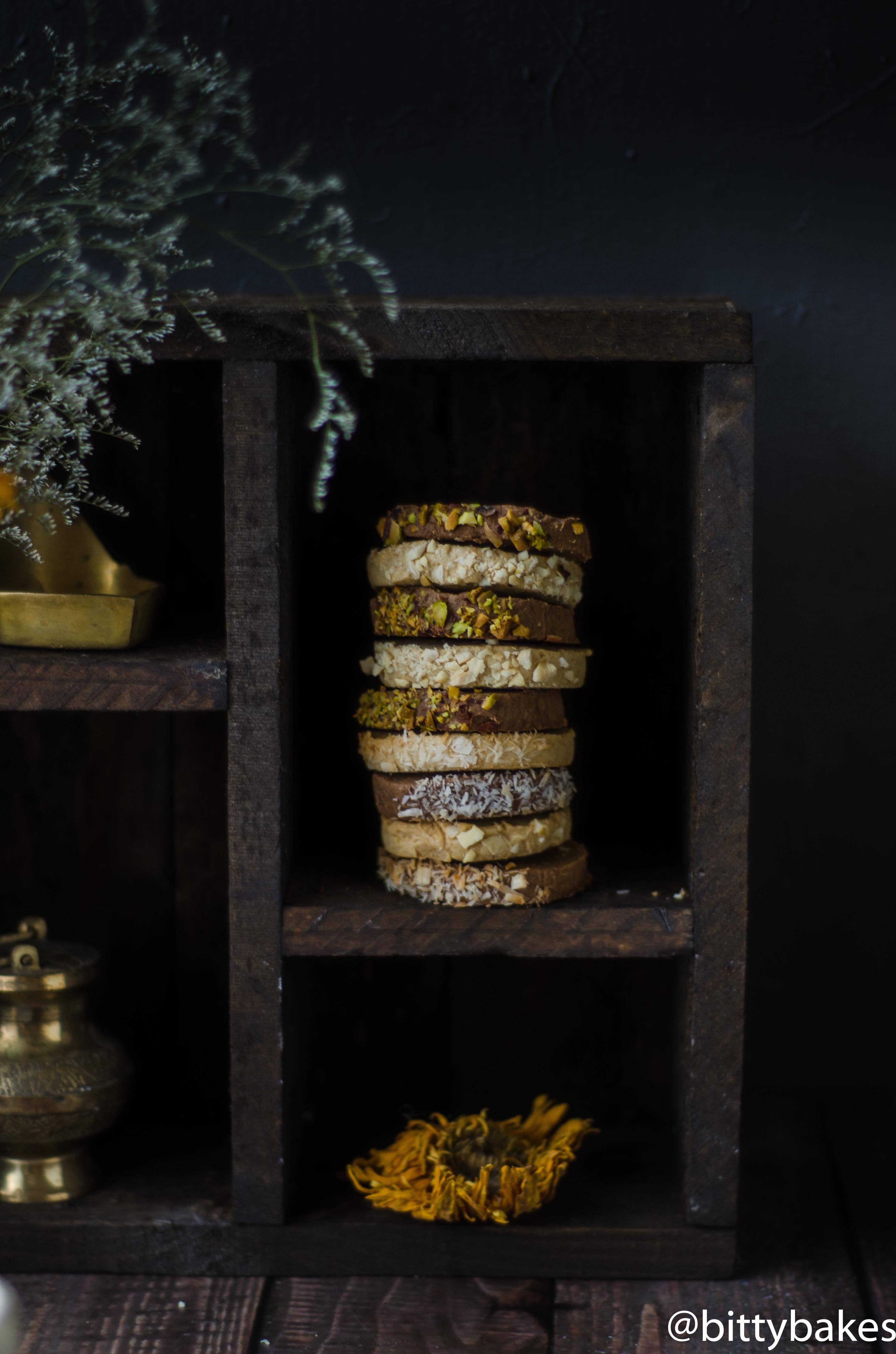 Millet Slice and Bake Cookies