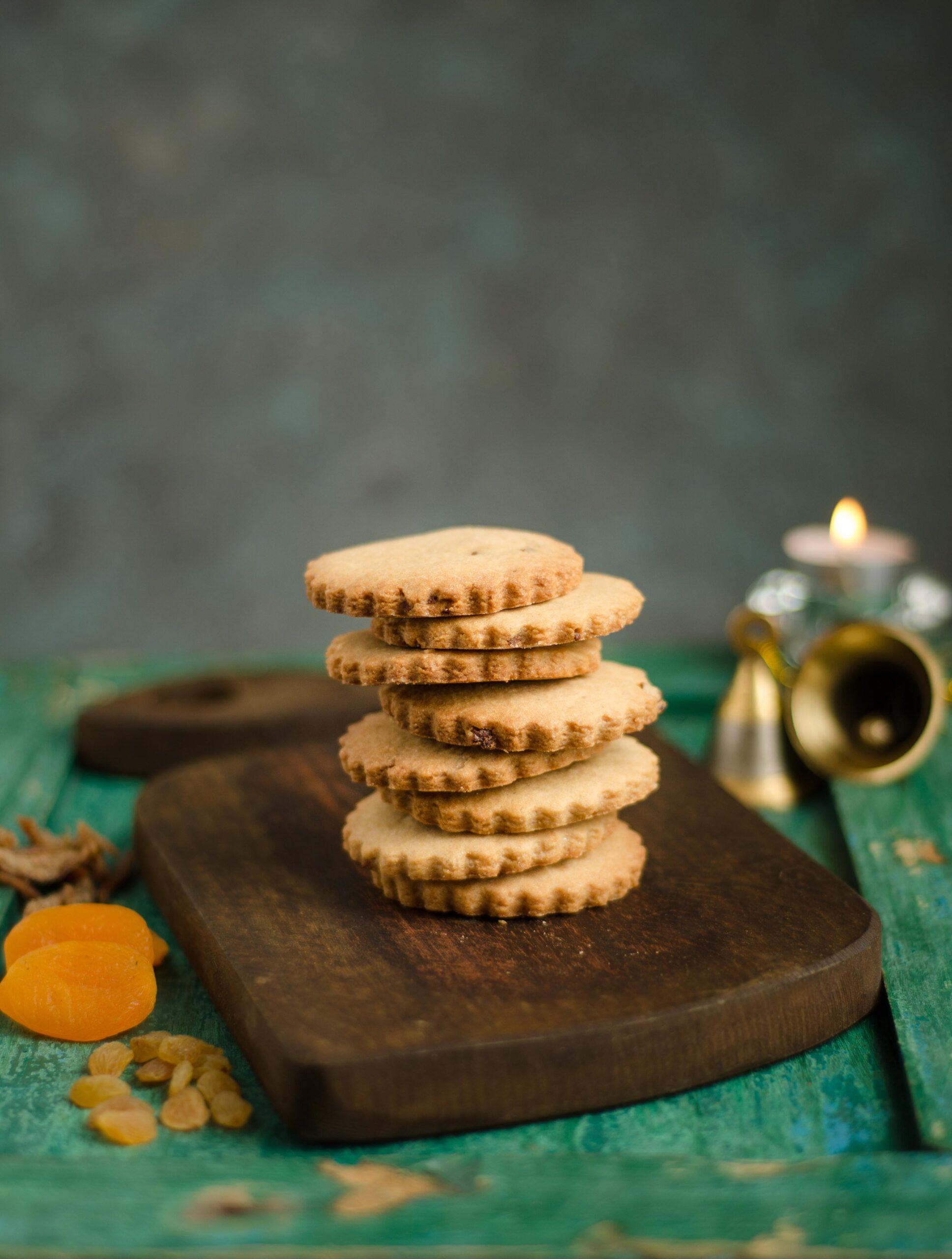 healthy rich plum cookies