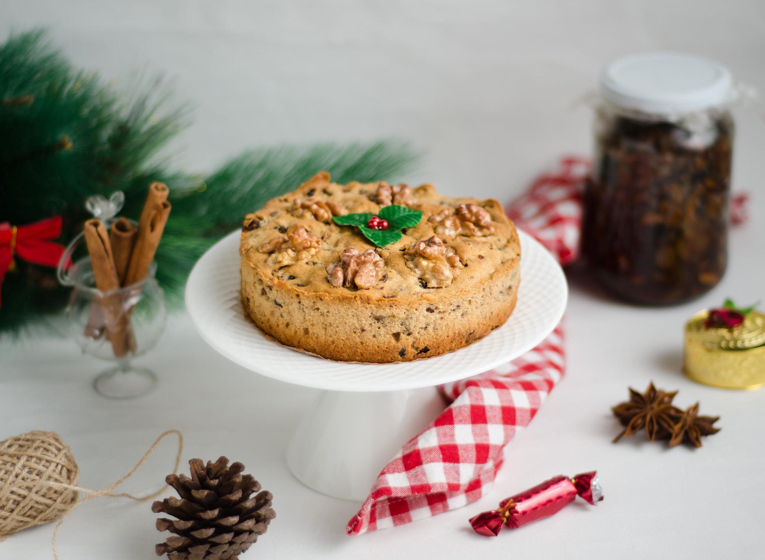 classic christmas plum cake