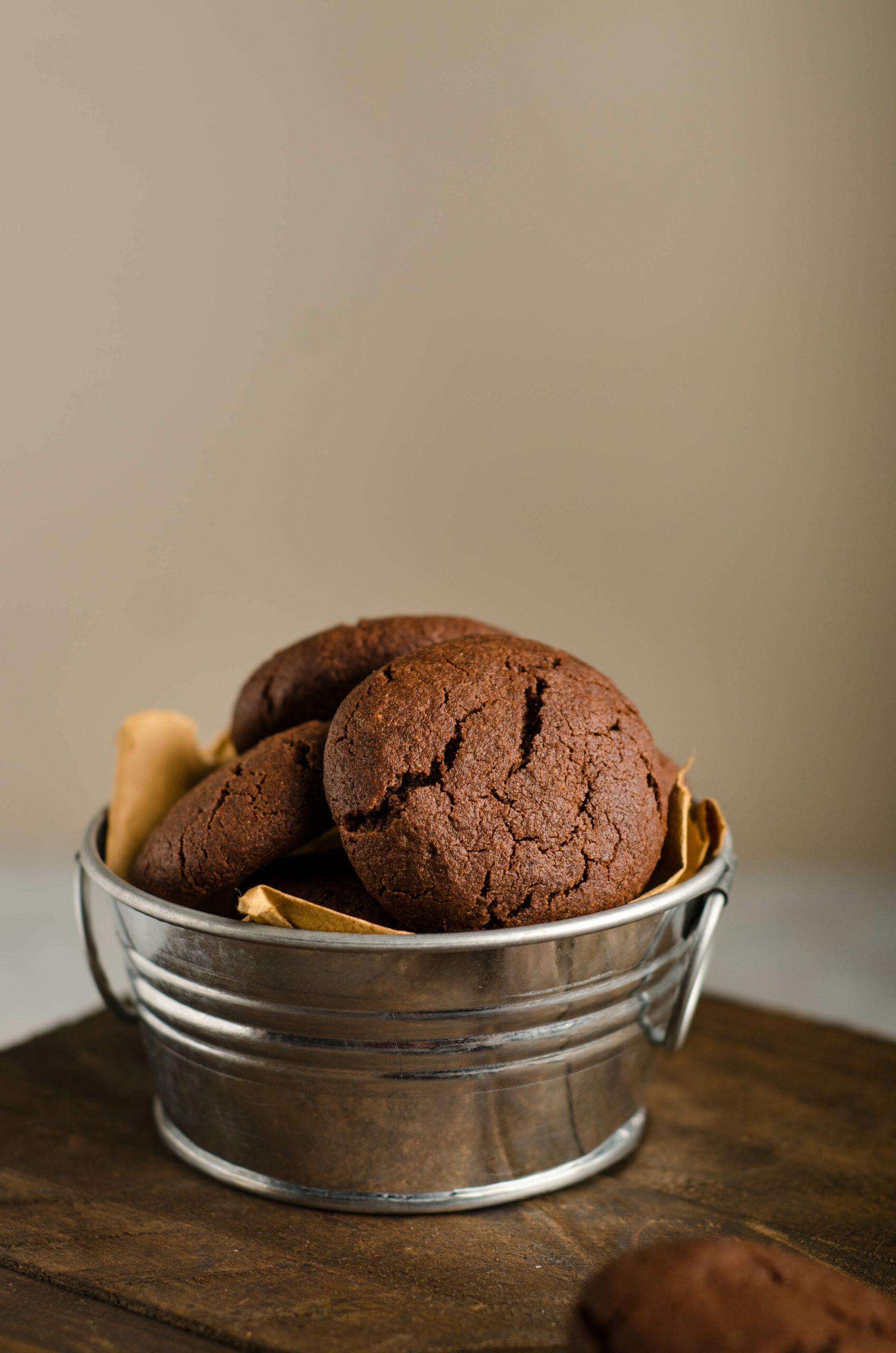 Eggless Oreo Chocolate Cookies