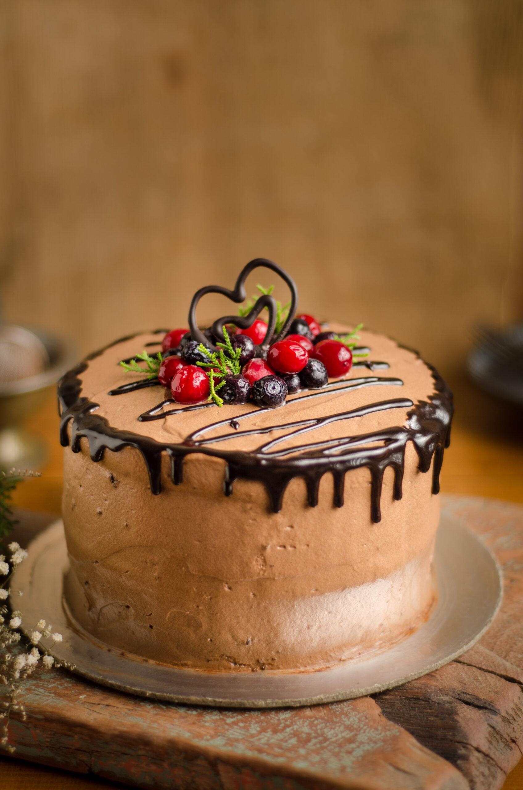 belgian chocolate mousse cake
