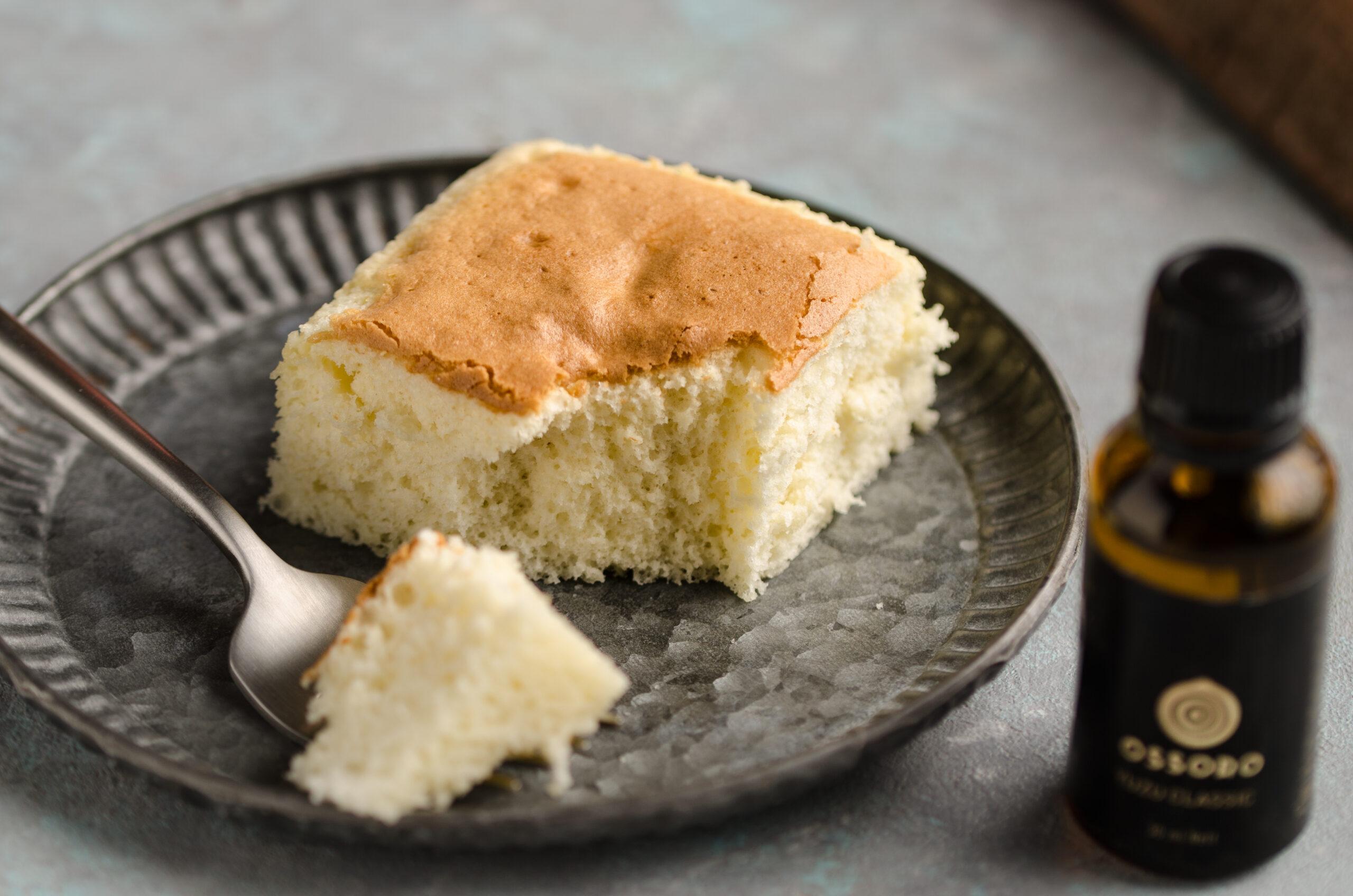 yuzu castella cake
