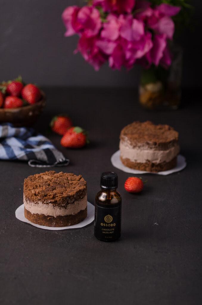 Vegan Mini Chocolate cake