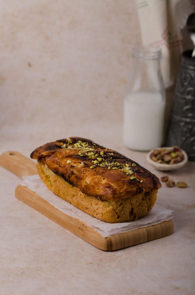 pistachio babka