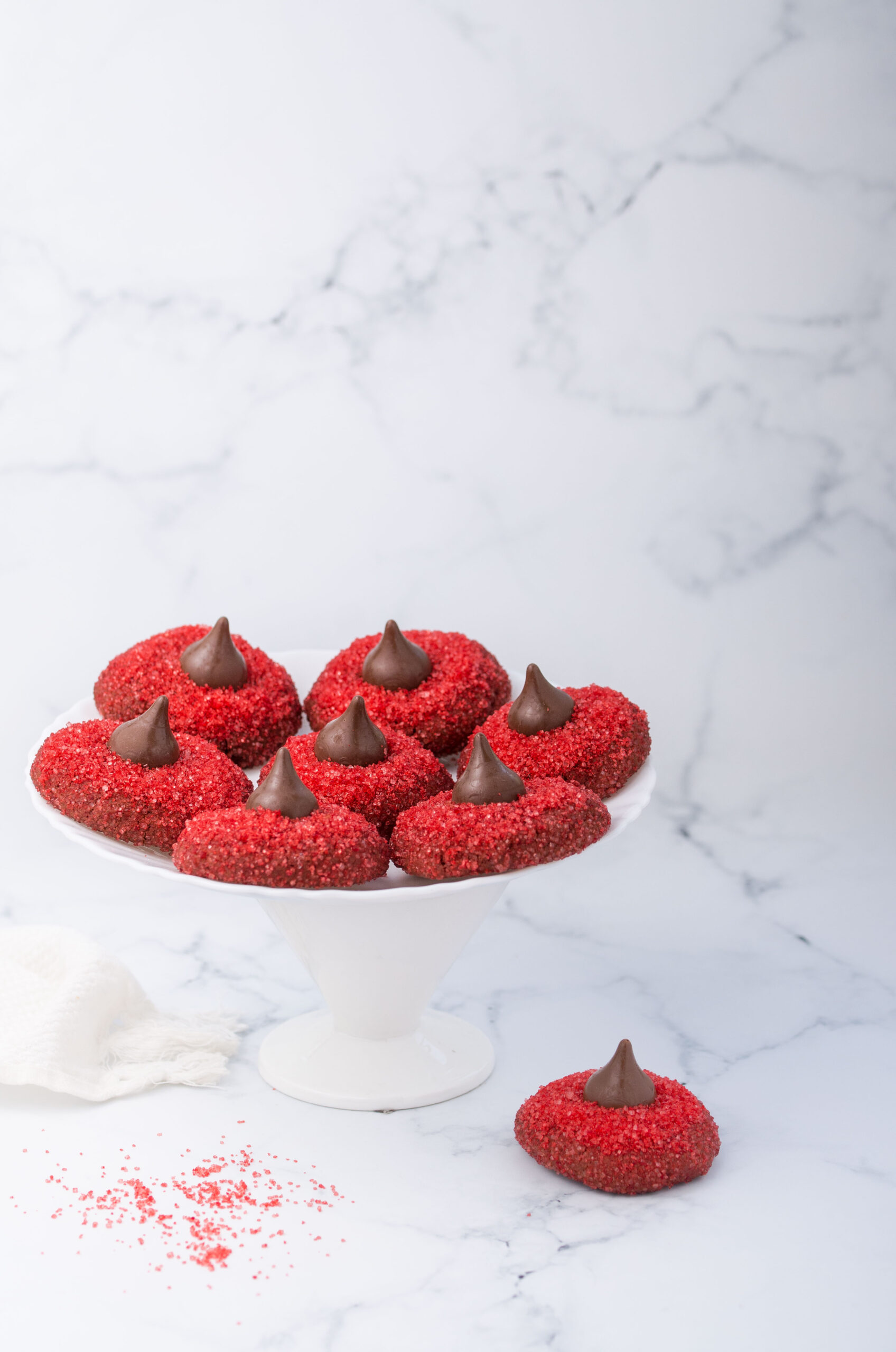 Valentine's Day Special - Red Blossom Cookies