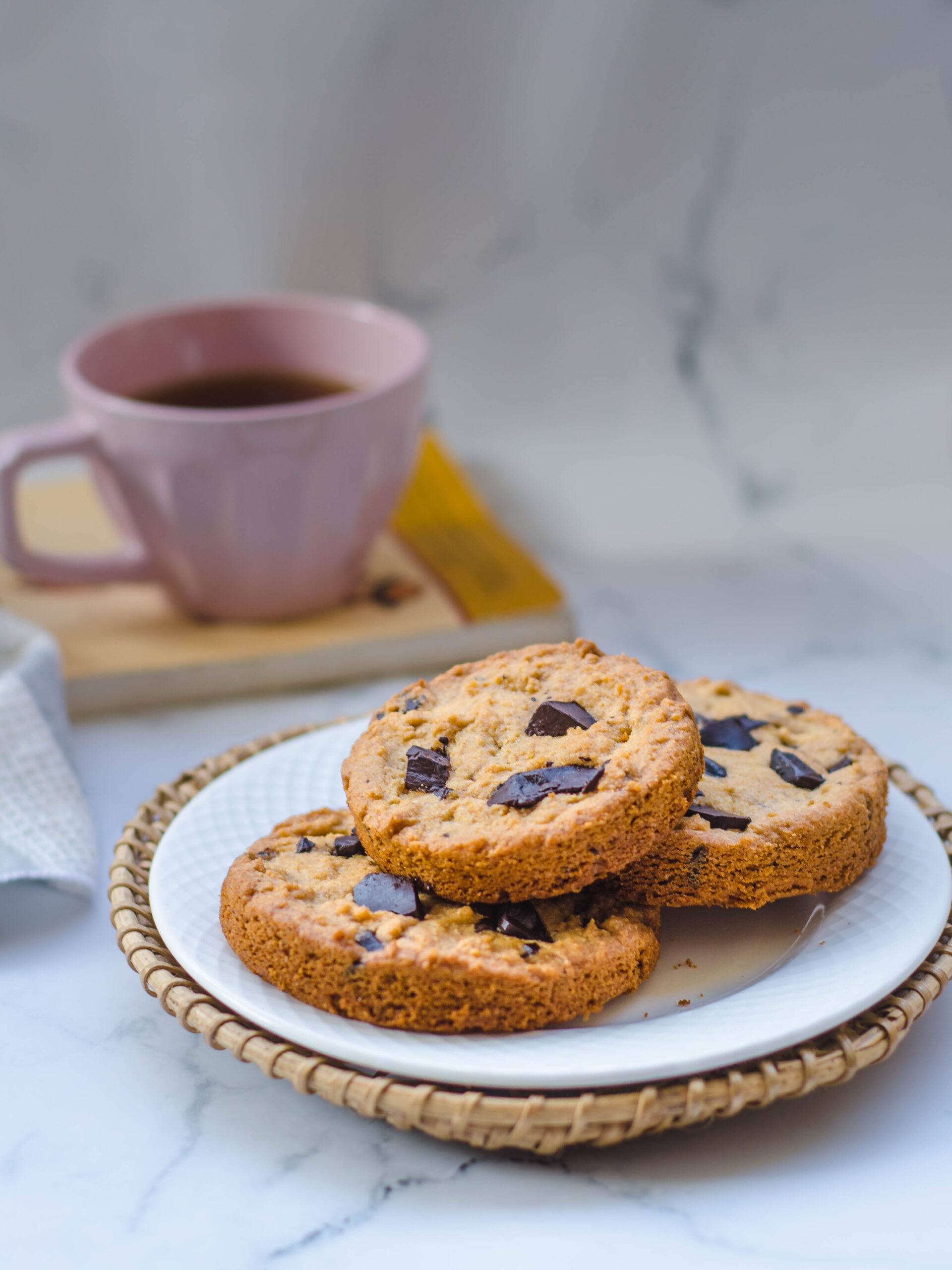 easy chocolate chunk cookies