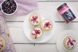 eggless blueberry cupcakes