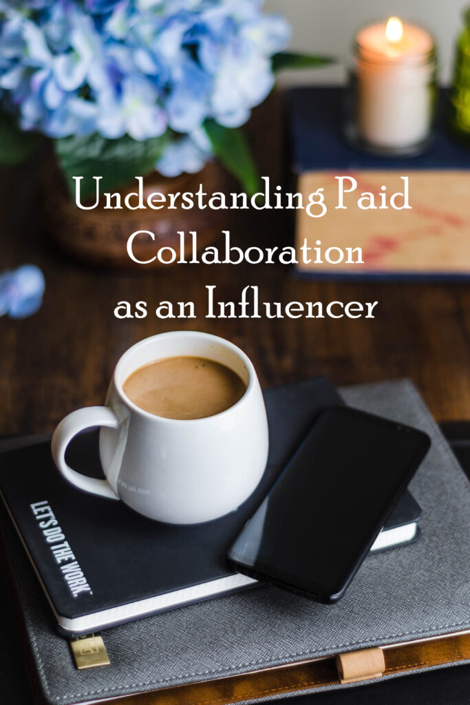 Understanding paid collaboration as an Influencer