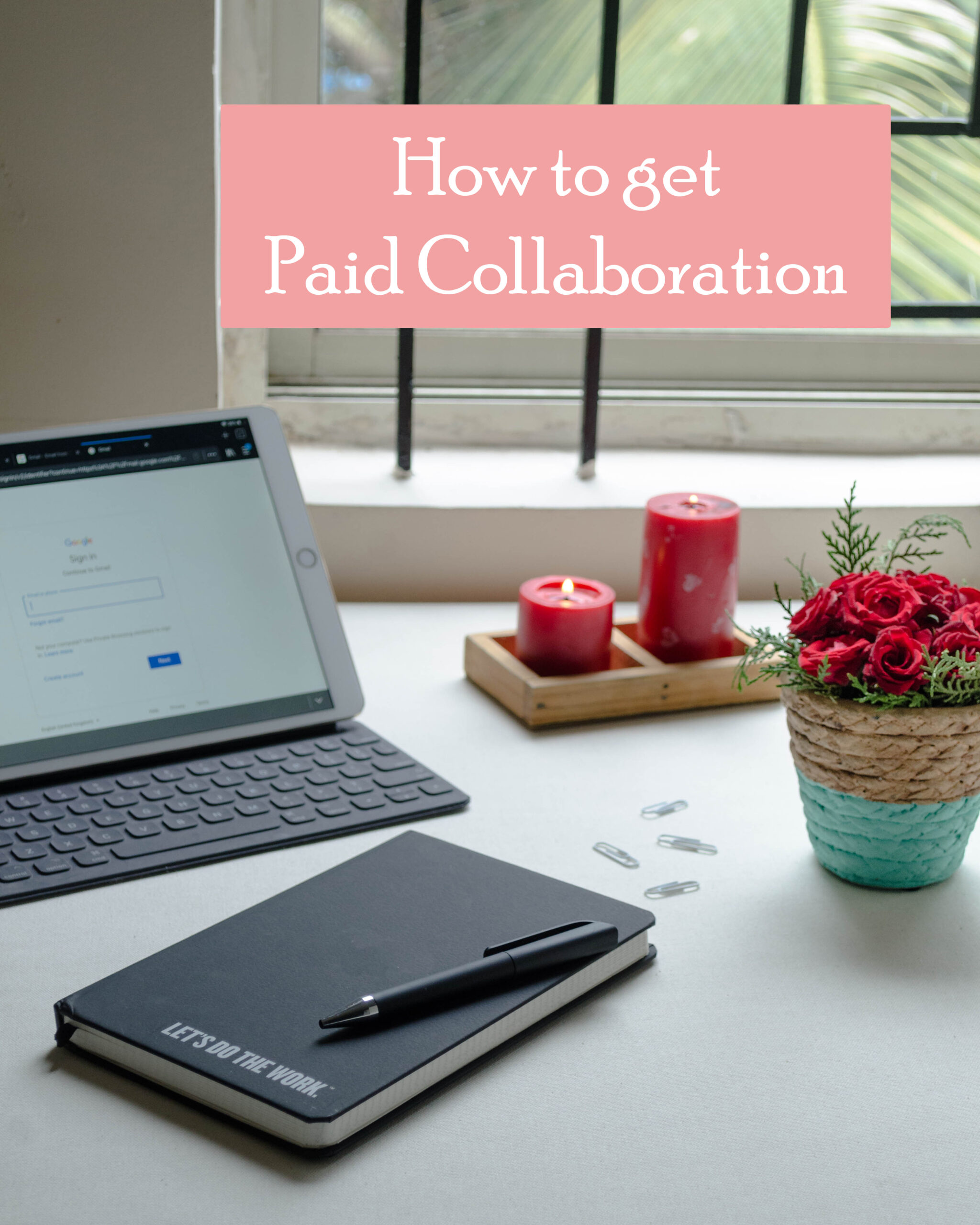 how to get paid collaboration as influencer