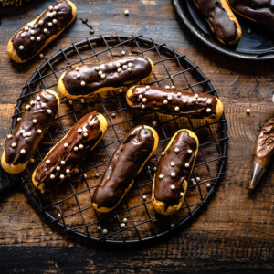 Chocolate eclairs recipe, best chocolate recipe, eclairs recipe,pastry recipe, chocolate eclairs pastry, french pastry