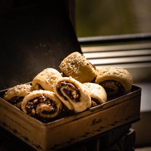 Nutella recipes, nutella rolls, easy nutella recipes, easy dessert recipes, easy snack recipes, lockdown snack recipes