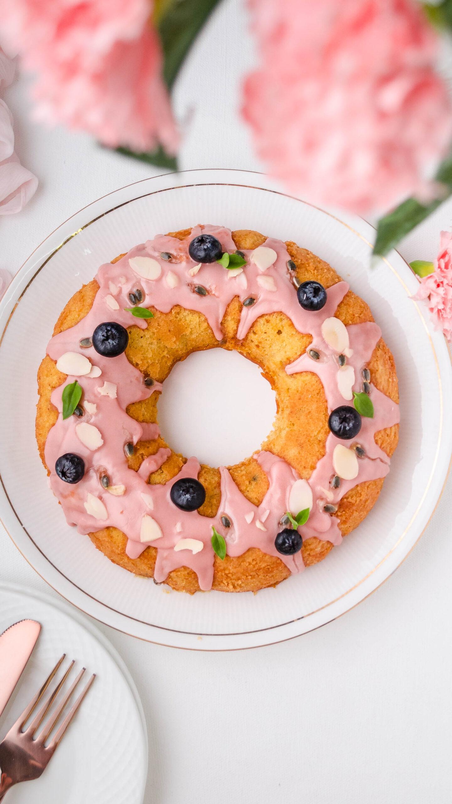 passion fruit orange cake, healthy recipe, healthy dessert, fruit dessert, easy cake recipe