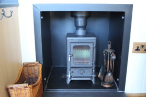 glamping in style -even Bilbo Baggins hasn't got a Hobbit Stove