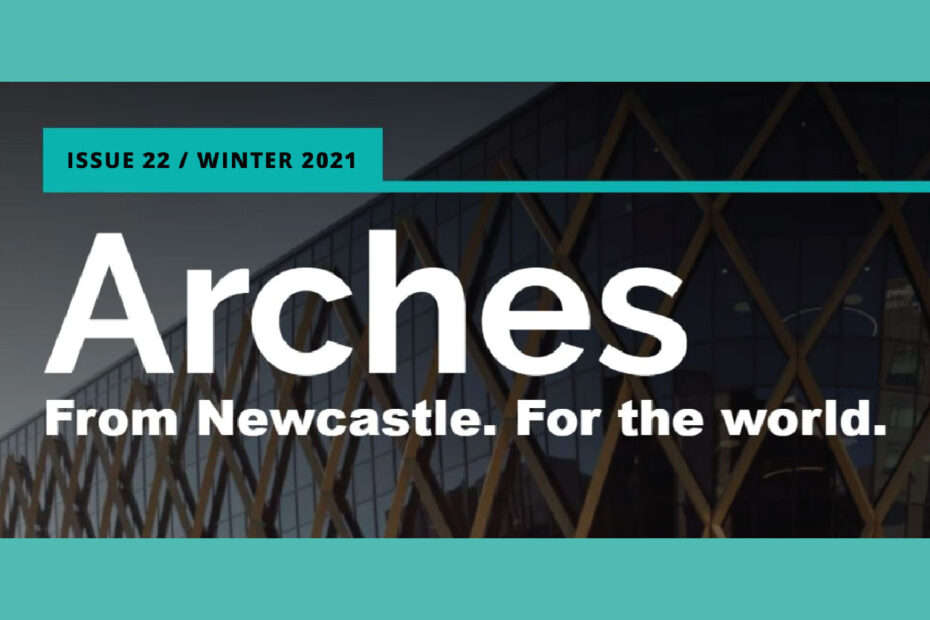 Arches, Newcastle University alumni magazine