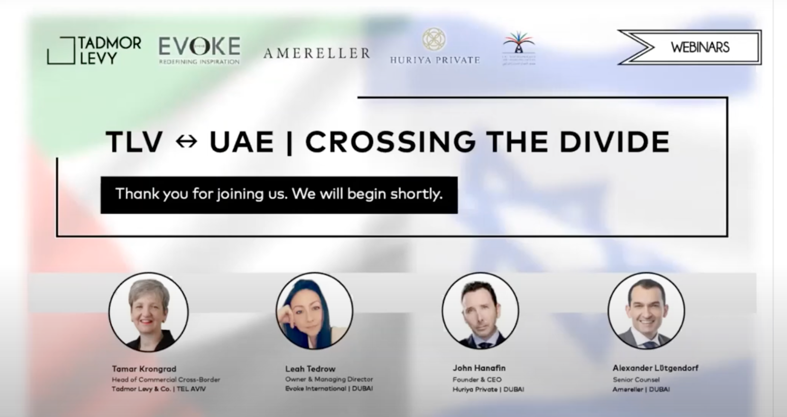 Israel UAE Relations. Evoke International Dubai - PR, Strategic Communication, Marketing, Design