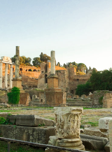 Visiting The Roman Forum & Palatine Hill