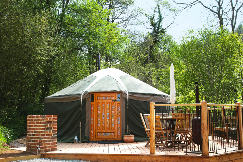 Hidden Valley Yurts (Yurt 1 Outside view) One Epic Road Trip